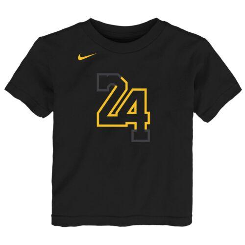 Nike NBA Toddlers Los Angeles Lakers Kobe Bryant #24 City Edition Tee Shirt