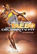 Billy Blanks GET CELEBRITY FIT CARDIO (DVD) TAE BO taebo workout sculpted