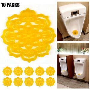 Hanshin Urinal Screen M/änner Orange Anti Splash Praktische tragbare Toilette Deodorant Zitronenduft Home Frischluft Bad Pad Rundes Zubeh/ör 1Gr/ün