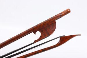 Baroque Violin Bow 4 4 Snakewood Great Balanced Natural Bow Hair Violin Parts Ebay