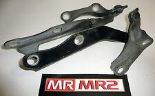 Toyota MR2 MK2 SW20 Bonnet Hinges Black 202 -  Mr MR2 Used Parts 1989-1999