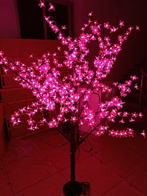 1 5m 5ft 480pcs Pink Led Cherry Blossom Tree Light Wedding Christmas Party Decor Ebay