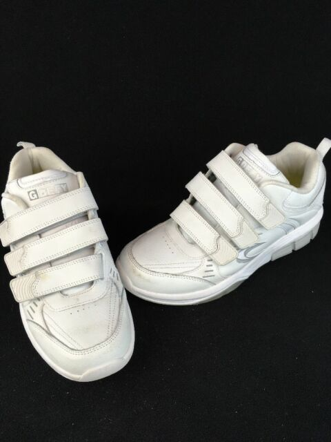 9d4ca2be39bee Gravity Defyer Men's Extora White Leather Athletic Shoes Size 7.5M G42/