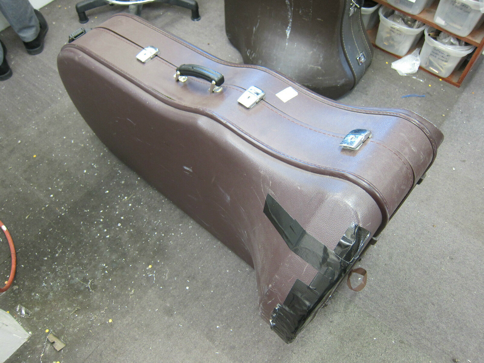 Besson Sovereign BE994 BBb Tuba Case (used)