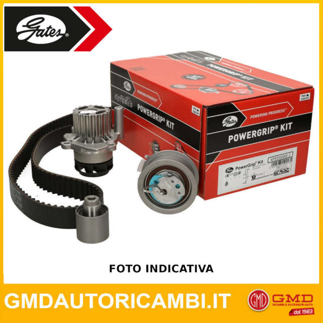 KIT DISTRIBUZIONE + POMPA ACQUA GATES CITROËN BERLINGO 1.6 BlueHDi 75 KW:55 d...