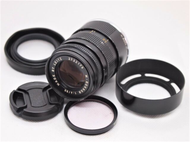 【 EXCELLENT 】Minolta M Rokkor 90mm f/4 Lens for CL CLE Leica M Mount from Japan