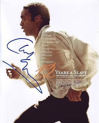 Supply Chiwetel Ejiofor Signed 12 Years A Slave Photo W/ Hologram Coa Autographs-original