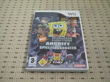 Spongebob Angriff Der Spielzeugroboter für Nintendo Wii und Wii U *OVP*