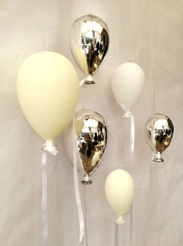 Ceramic Glass Balloon Hanging Party Wedding Venue Decoration 3 Sizes Colours