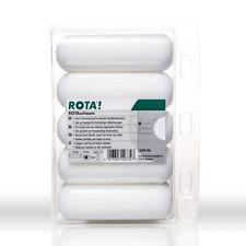 10 x ROTA! Schaumwalze 11cm abgerundet Lackierwalze Lackierrolle Farbwalze