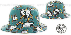 e2333f40897 Image is loading Mighty-Ducks-039-BRAVADO-BUCKET-039-Hats-by-