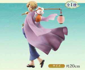 Natsume/'s Book of Friends Takashi Natsume /& Nyanko-sensei Figure 20cm New