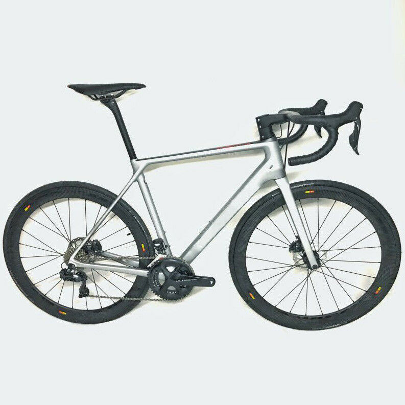 Aero Disc Thru Axle Carbon Road Bike Complete Bicycle frame wheel Ultegra R8020