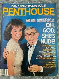 PENTHOUSE Magazine November 1984 The Million Dollar Pet