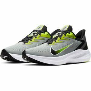 Dimensione relativa Paine Gillic Destrezza  Scarpe running uomo Nike Zoom Winflo 7 CJ0291-002 Grigio-Nero-Giallo mesh    eBay