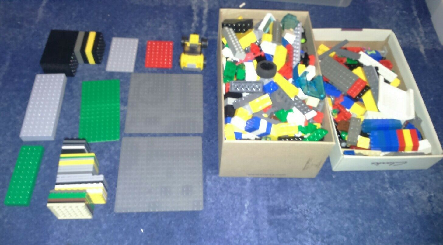 Lego job lot nearly 1.7 kg maybe some star wars and harry potter mixed in