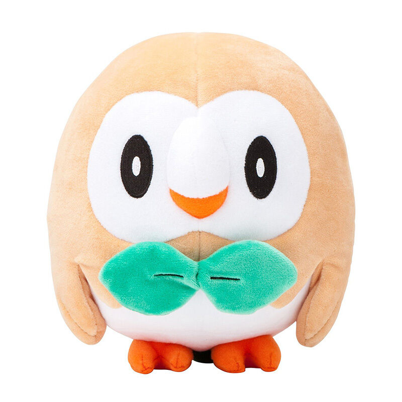 Official anime center ROWLET  Plush Toy Generation VII Sun Moon Gift Present