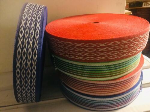 Indian Nawar pour Manja Violet Bandes Nylon Sangle Filetés matériel