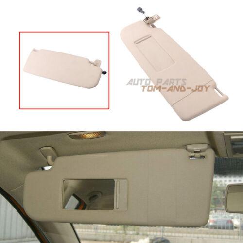Beige Sun Visor Left Side Fit VW PASSAT B7 CC JETTA MK5 1KD 857 551A