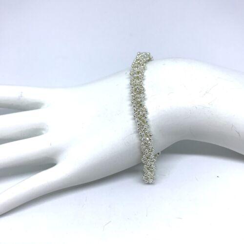 Argent sterling Femme Chaîne Bracelet 925 Longueur 7