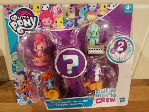 My Little Pony Cutie Mark Crew Bundle Party Performers 5 figure set new MLP