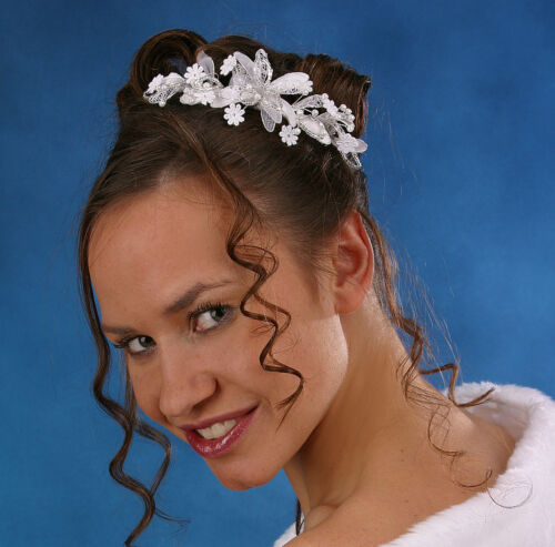 Gioielli per Capelli Testa Gioielli velo completamento Matrimonio Nuovo