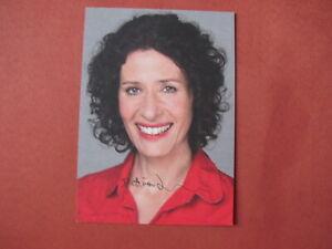 Autogrammkarte - Bettina Jarasch - Die Grünen - Berlin - orig. autograph