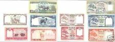 Nepal set 5 banconote ultima emissione FDS UNC