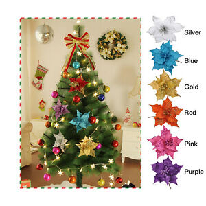 image is loading flower christmas tree hanging decorations xmas wedding party