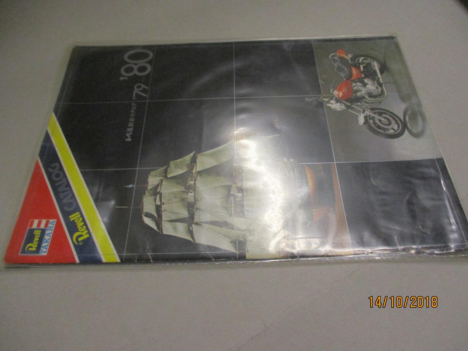 REVELL MODELLO KIT: catalogo 1979/80 Giappone