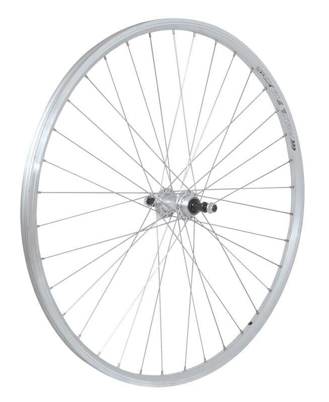FORCE 28 Hinterrad Rad RMX 219, Silber mit Schraubkranz 5