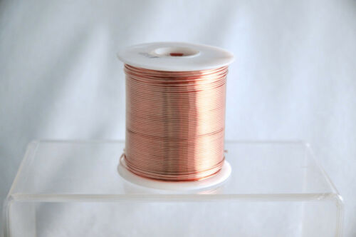 80 Feet Diameter 0.064 Bare Copper Wire 14 Gauge 1 lb Spool