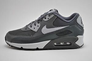 Womens Nike Air Max 90 Essential Running Shoes Sz 6 Grey Anthracite 616730 030