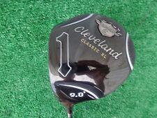 Cleveland Golf Classic XL 285 Driver 9.0 Miyazaki 4S Stiff Flex Left Hand NEW