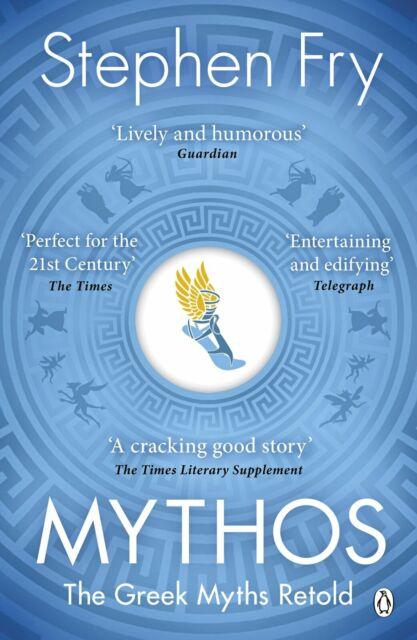 Mythos: The Greek Myths Retold Mythical History by Stephen Fry (Paperback, 2018)