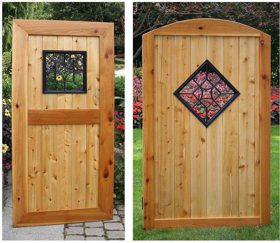 Nuvo Iron Square Decorative Gate Fence Insert Acw54
