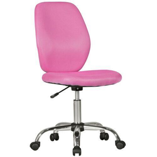 Bürostuhl pink hohe Rückenlehne Kinder Kinderschreibtischstuhl Kinderbürostuhl