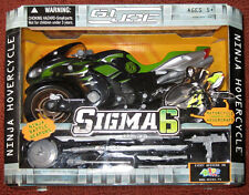 GI Joe Hasbro Sigma 6 Ninja Hovercraft Motorcycle 2005 MIB Rare