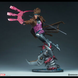 SIDESHOW-Marvel-Gambit-Maquette-Statue-Figure-NEW-SEALED