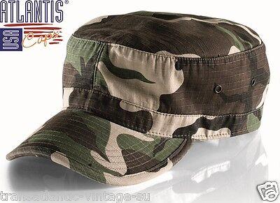 Cappello Militare con Visiera e Velcri modello Tactical CONDOR U.S.A Nero