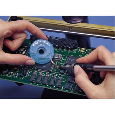 TRESSE A DESSOUDER 4.5 mm 1.5 M CHEMTRONICS ULTRA FINE ROUGE CHEM WIK S5