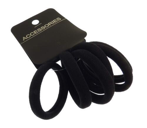 Soft Fabric Snag Free Endless Elastic Bands Ponytail Holder Hair Bobble-eb