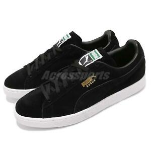 Puma White 87 Casual Black Suede Gold Sneakers Men Classic 352634 Shoes gqWrawIng