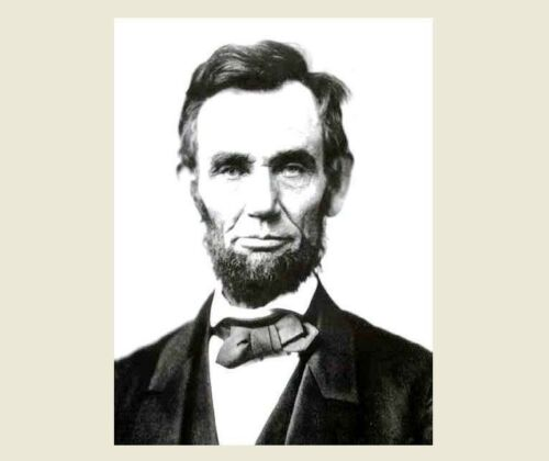 1863 Abraham Lincoln PHOTO Republican Civil War President B4 Gettysburg Portrait