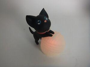 ''Kat'' LED Bank/Black Cat/Saving Bank With LED Light/7 Color Lighting/Gift/New