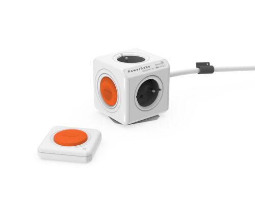 Bloc Multiprise contrôlé à distance Allocacoc PowerCube Extended Remote 1.5m