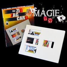 Carte Zig-Zag Bicycle - Carte coupée en 3 - Tour de magie