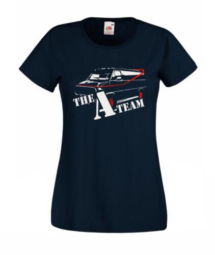 Hoodie A Team Van Retro 80s TV T Shirt