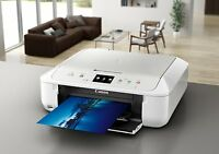 CANON PIXMA MG6851 All-in-One Wireless Inkjet Printer White 4800 x 1200 dpi,