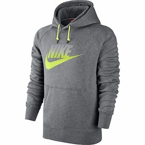 547dccf04be8 NWT Men s Nike AW77 FUTURA FLEECE HOODIE Club Pullover 823876 091 ...